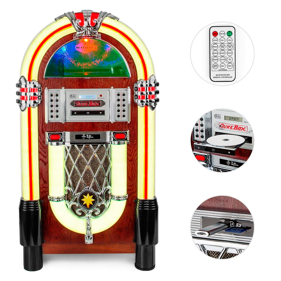 Jukebox Graceland TT CD USB